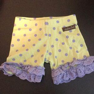 Matilda Jane ruffle shorts